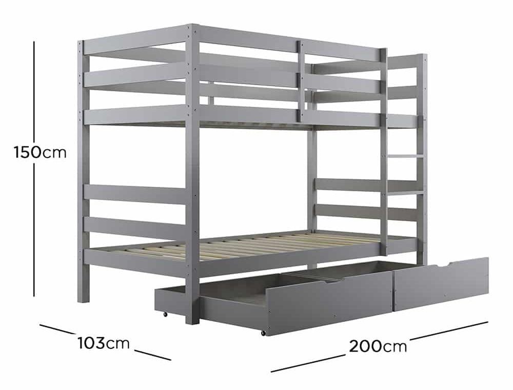 Cato Bunk Bed